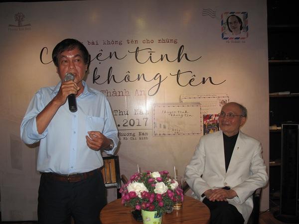 Nhà văn Nguyễn Đông Thức giao lưu tại Hội sách TPHCM 2018