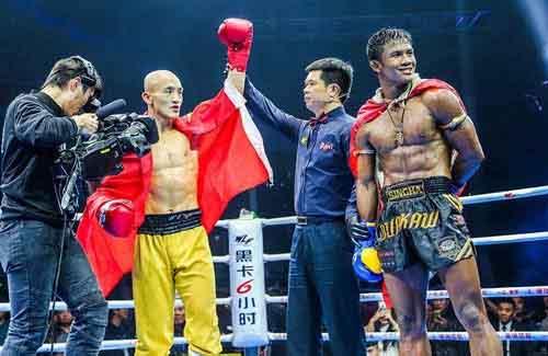 Sau Buakaw, 'Đệ nhất Thiếu Lâm' Nhất Long lại chiến với cao thủ Muay