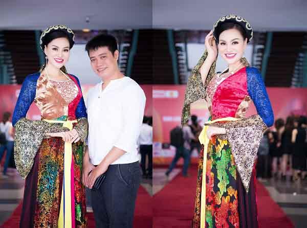 Nữ hoàng sắc đẹp Trần Huyền Nhung chia sẻ về công việc và gia đình trong ngày phụ nữ Việt Nam 20/10
