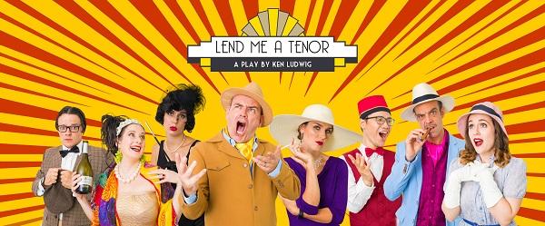 Nhóm Dragonfly Theatre diễn vở hài kịch Broadway 'Lend Me A Tenor' tại TP.HCM