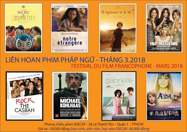 Liên hoan phim Pháp ngữ 2018