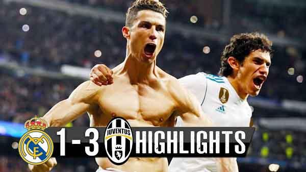 Real Madrid vs Juventus 1-3 (11/04/2018)