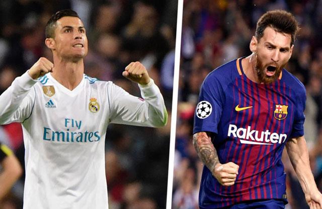 So sánh Ronaldo và Messi tại La Liga 2017/18: 'Kẻ ăn không hết, người lần không ra'