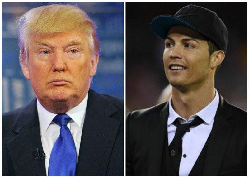 Donald Trump nhắc đến khả năng Ronaldo tranh cử tổng thống