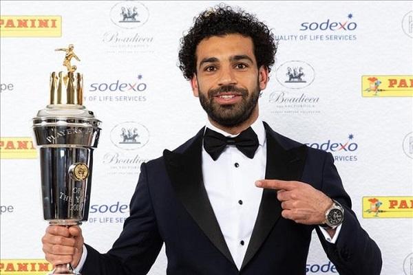 Vượt De Bruyne, Salah ẵm giải Cầu thủ xuất sắc nhất Premier League