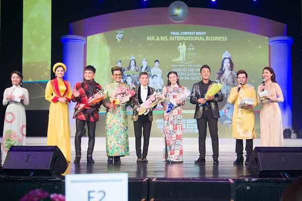 Dàn sao, khách mời danh tiếng quy tụ tại đêm chung kết Nam vương và Hoa hậu Doanh nhân Quốc tế 2018 vừa diễn ra tại Seoul (Hàn Quốc)