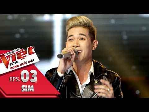 Sim Chanponloue - Hương à | Tập 3 Vòng Giấu Mặt | The Voice 2018