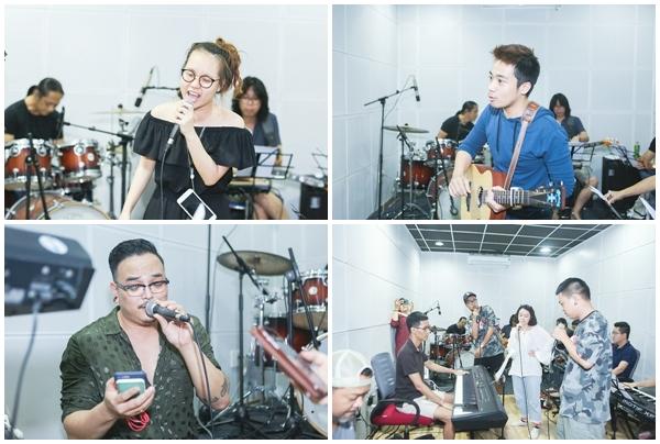 10 thí sinh đang 'căng như dây đàn' trước đêm chung kết Sing My Song