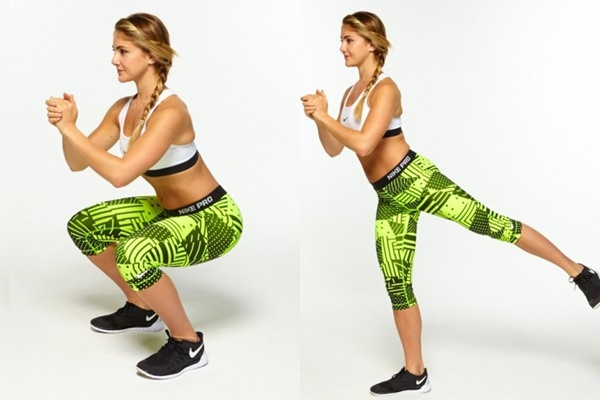 Những động tác squats từ đơn giản đến phức tạp