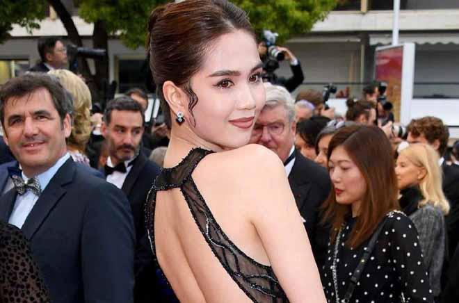 Đại biểu Quốc hội không hài lòng khi Ngọc Trinh mặc phản cảm tại Cannes