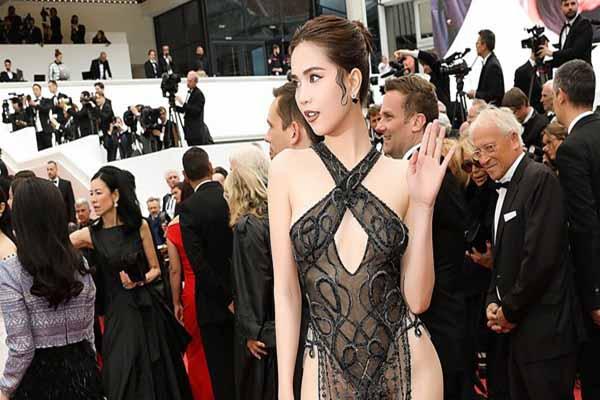Cộng đồng mạng dậy sóng vì Ngọc Trinh dự Liên hoan phim Cannes 2019: Ngày càng thô tục