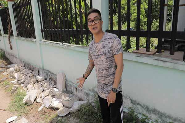 Ca sĩ Khánh Đơn bị chỉ trích khi về Bình Dương quay 2 xác người trong bê tông