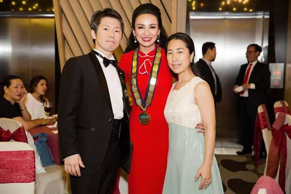 Hoa hậu du lịch Ngọc Diễm rạng rỡ với vai trò mới