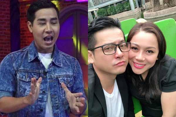 Thu Quỳnh, Nguyên Khang ôm chặt nhau ở Hàn Quốc