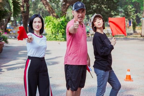 Lăn xả chơi game nhưng Thu Trang, Tiến Luật bại trận trước Đại Nghĩa