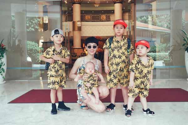 Trà My đưa gia đình đi du lịch sau tuyên bố nghỉ chơi Thu Thủy