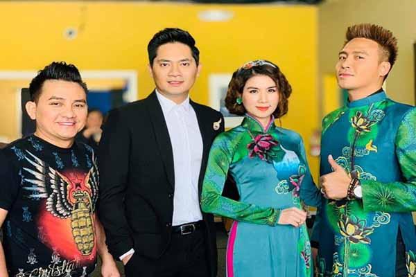 Hình ảnh khỏe mạnh của nghệ sĩ Anh Vũ bên Kha Ly, Minh Luân ngày cuối đời