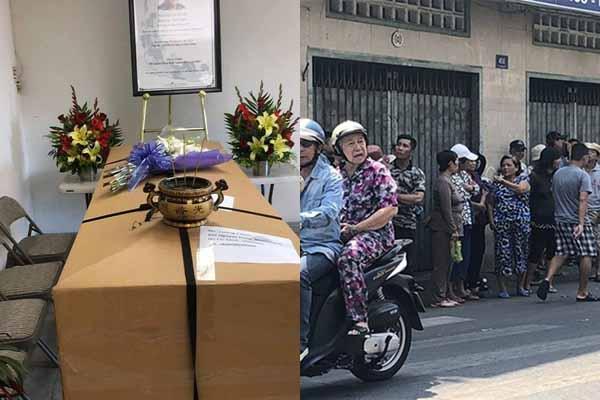 Mẹ Anh Vũ ngất xỉu khi chờ đón thi thể con trai ở chùa Ấn Quang