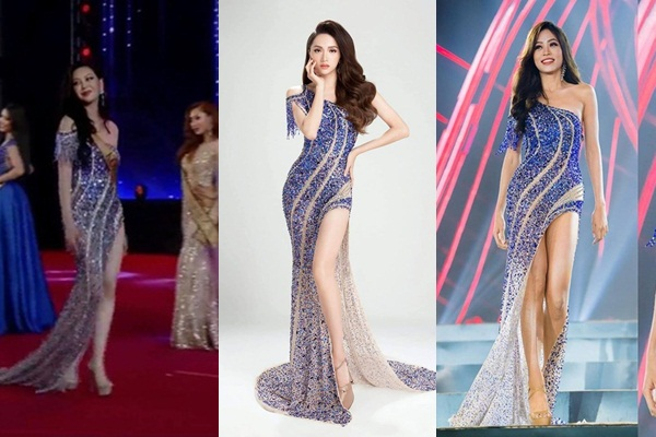 Hoa hậu Hàn Quốc đụng hàng Hương Giang, Phương Nga tại chung kết Miss Planet International 2019