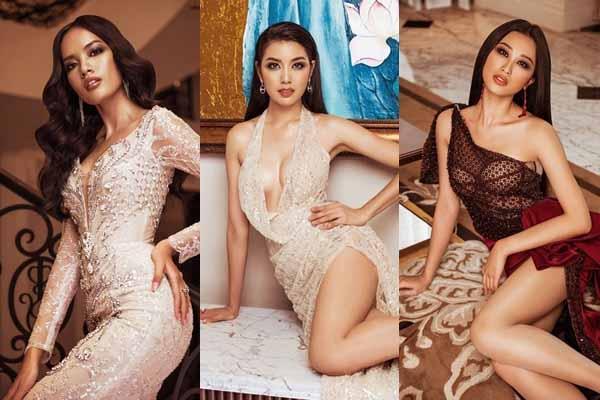 """Thúy Vân áp đảo khi Hoa hậu Hoàn vũ Việt Nam 2019 tung ảnh """"Evening Gown"""""""