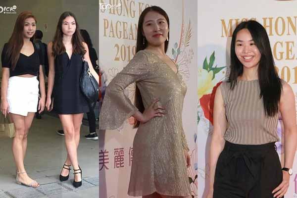 Giật mình nhan sắc thí sinh Hoa hậu Hong Kong 2019