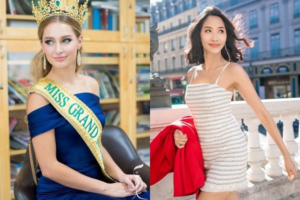 Nhan sắc Hoa hậu Hòa bình thế giới bỏ danh hiệu, thi Hoa hậu Hoàn vũ 2019 với Hoàng Thùy