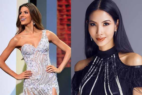 Hoàng Thùy gặp đối thủ đáng gờm tại Hoa hậu Hoàn vũ 2019
