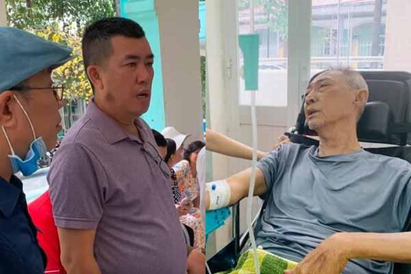 Nghệ sĩ Lê Bình sức khỏe chuyển biển xấu, hoại tử thân dưới