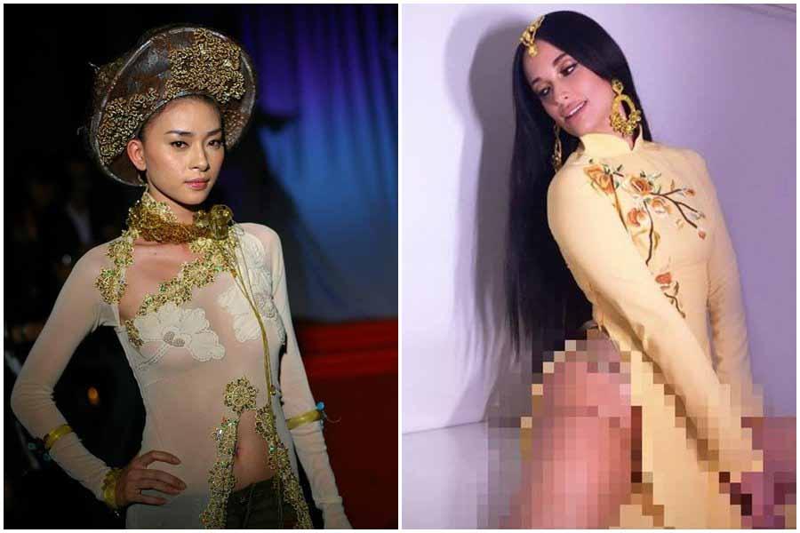 Ngô Thanh Vân phản pháo khi bị dư luận Việt chỉ trích mặc áo dài phản cảm
