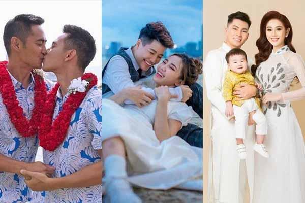Hạnh phúc đáng ngưỡng mộ của 5 đôi đồng tính, chuyển giới sau đám cưới