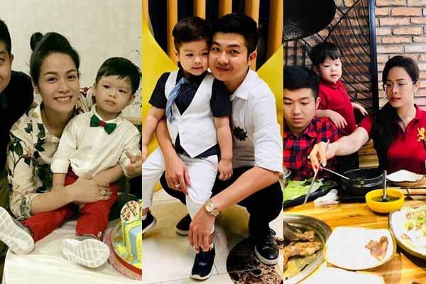 Khoảnh khắc hiếm hoi của con trai Nhật Kim Anh bên mẹ