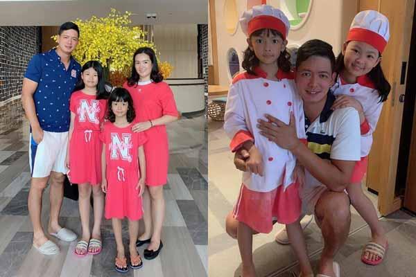 Vợ chồng Bình Minh ăn nghỉ 'quên lối về' ở Phú Quốc