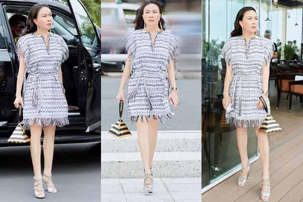 Măc ai khen chê, bạn gái Quách Ngọc Ngoan vừa xuất hiện cực ấn tượng ở show thời trang
