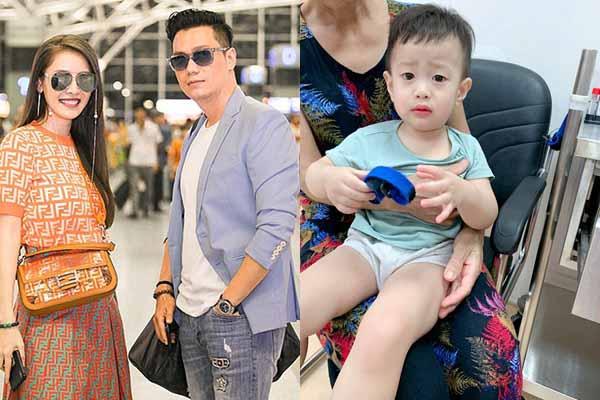 Việt Anh đang vui vẻ ở Hàn Quốc, con trai đau ốm khiến vợ cũ bất lực