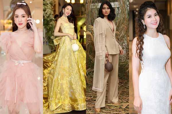 Hoa hậu Việt Nam, diễn viên nổi tiếng mặc ấn tượng tuần qua