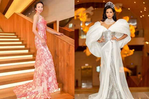 Ngọc Diễm, H'Hen Niê nổi bật ở công bố 'Hoa hậu Hoàn vũ Việt Nam 2019'