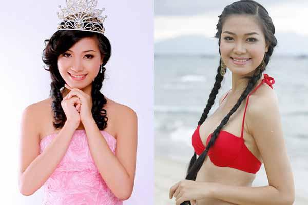 Hoa hậu Thùy Dung từ bỏ showbiz Việt sang Mỹ định cư