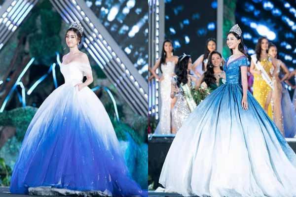 Tiểu Vy, Đỗ Mỹ Linh lộng lẫy như nữ hoàng đêm chung kết hoa hậu