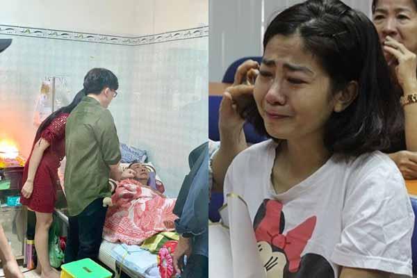 Mai Phương không dám đối diện quá lâu với hình ảnh nghệ sĩ Lê Bình