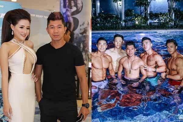 Ngân 98 tố dắt gái về nhà ngủ, Lương Bằng Quang tìm vui bên loạt mỹ nam 6 múi