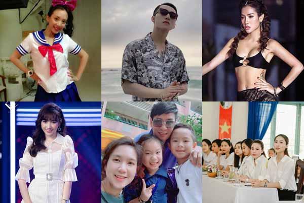 10 ảnh hot nhất trên Facebook sao Việt (20/8)