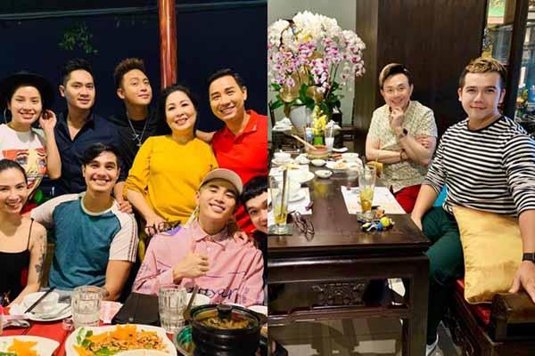 Sao Việt hội ngộ, 'quậy tưng bừng' nhà hàng của nghệ sĩ Hồng Vân