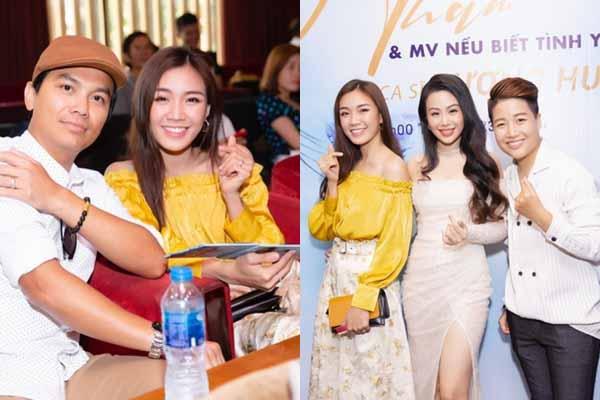 Tú Tri trẻ trung, Yun Bin cá tính đến chúc mừng đồng nghiệp