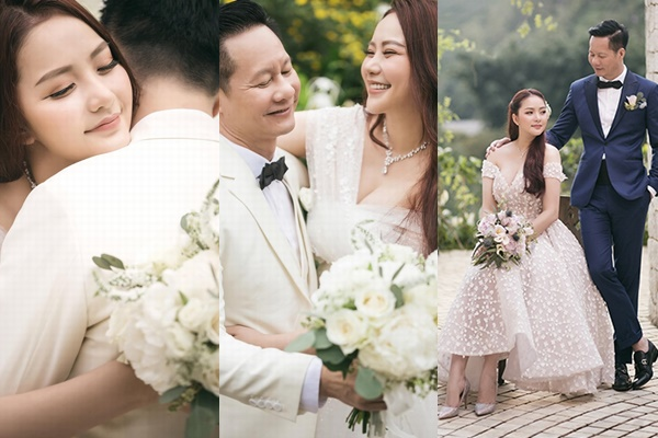 Phan Như Thảo chụp ảnh cưới cùng chồng cũ Ngọc Thúy