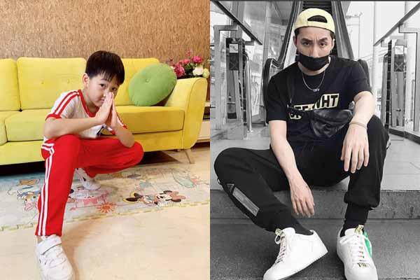 Con trai Bảo Thanh tạo dáng chất chơi như Sơn Tùng MTP