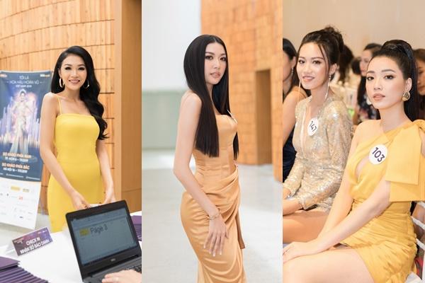Nhiều nhân tố nổi bật ở sơ khảo Hoa hậu Hoàn vũ Việt Nam 2019
