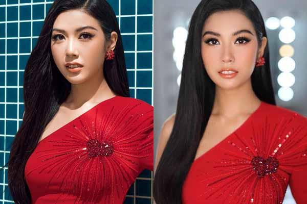 Thúy Vân khóc nức nở ở Hoa hậu Hoàn vũ Việt Nam 2019