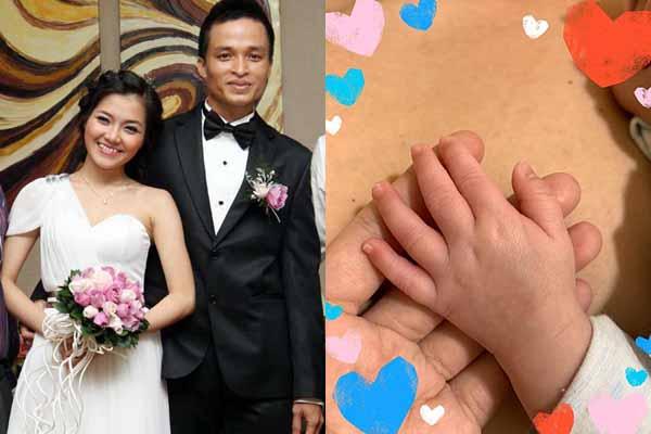 Thanh Ngọc sinh con trai sau 8 năm đám cưới