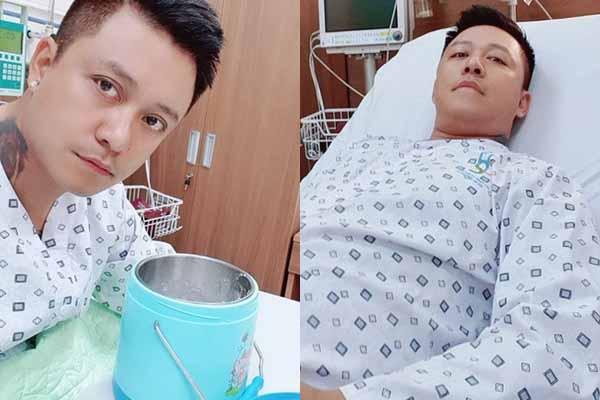 Tuấn Hưng nhập viện, huyết áp cao và hở van tim