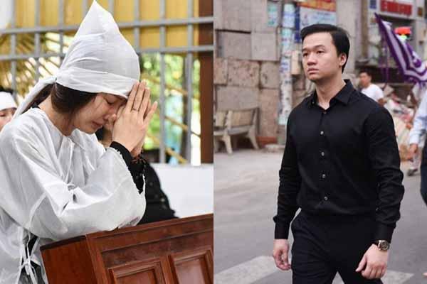Bạn trai Việt kiều âm thầm phía sau Diễm My phụ tang lễ mẹ